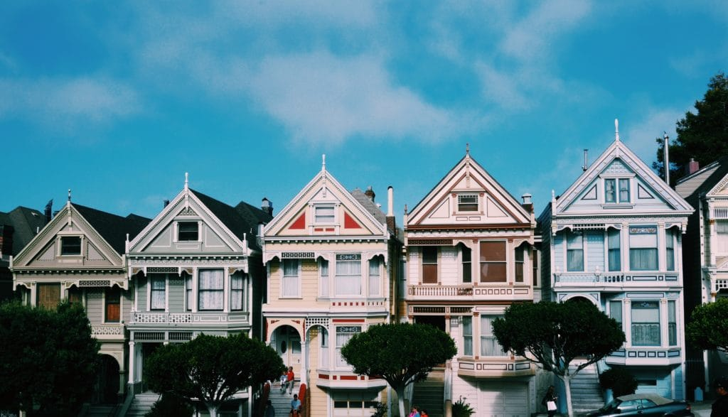 Visit full house street San Francisco, and see the Painted Ladies